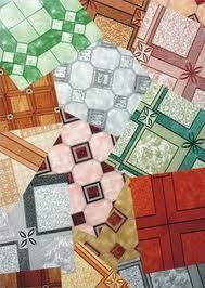 Многообразие расцветок линолеума для кухни