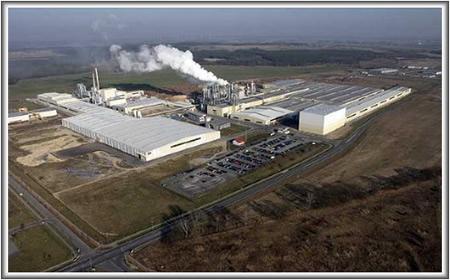 Завод Kronotex( производитель ламинированных покрытий)