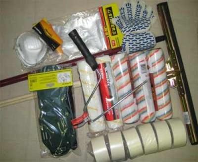 инструмент для окраски бетонный полов