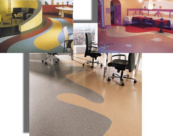 Полимерное покрытие в офисных помещениях