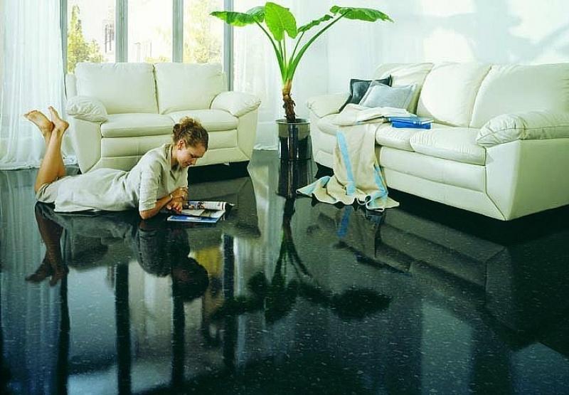 Полимерное покрытия в квартире