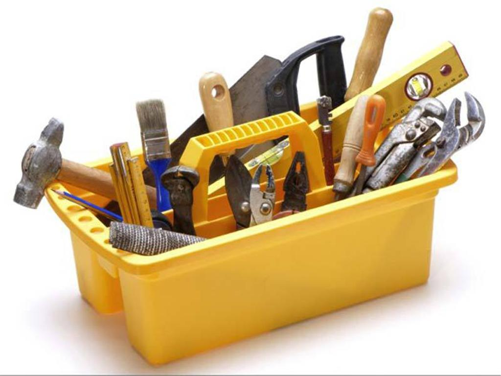 Необходимый инструмент для замены бетонного пола
