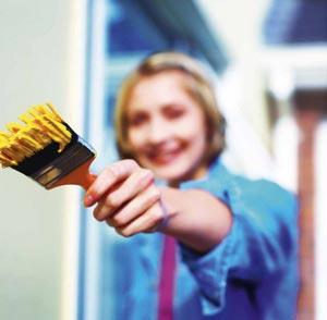 Эмаль для бетонного пола накладывается только тогда, когда бетон полностью освободится от влаги