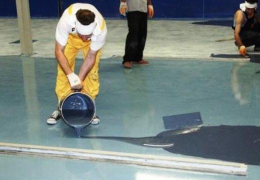 Подготовка к монтажу наливного покрытия