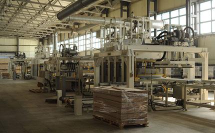 Производственные мощи компании  Amber Wood