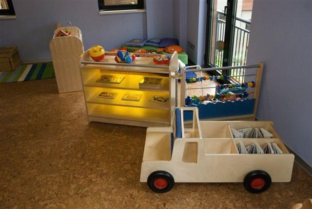 пробковая доска в детской, экологически чистый продукт