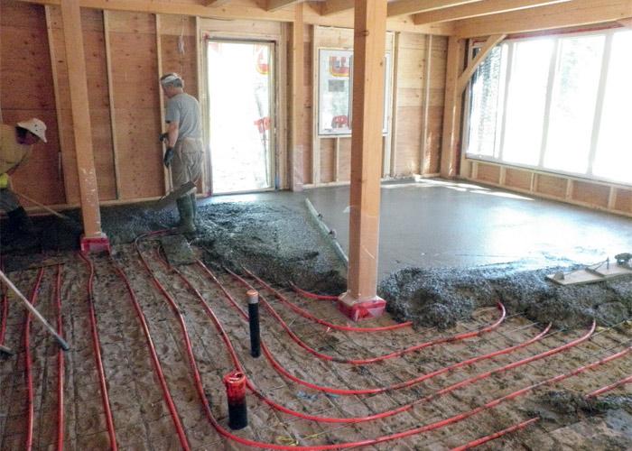 Как сделать тёплый пол своими руками в деревянном доме