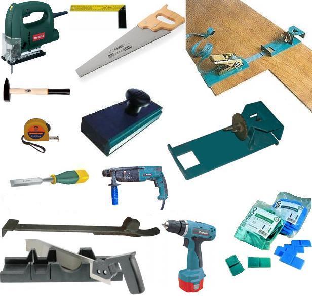 Оформить Инструмент для укладки ламинат своими руками