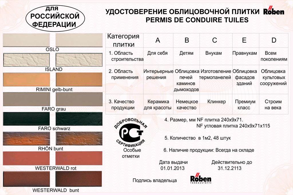 Продукция компании Roben