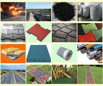 Сфера применения резинового напольного покрытия