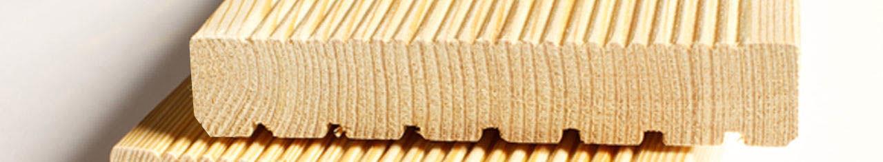 Палубная террасная доска из сосны