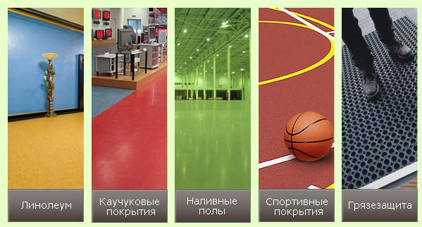 Разнообразие видов спортивных напольных покрытий