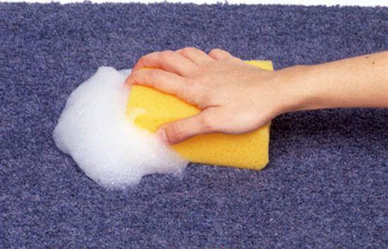 Как в домашних условиях отмыть палас
